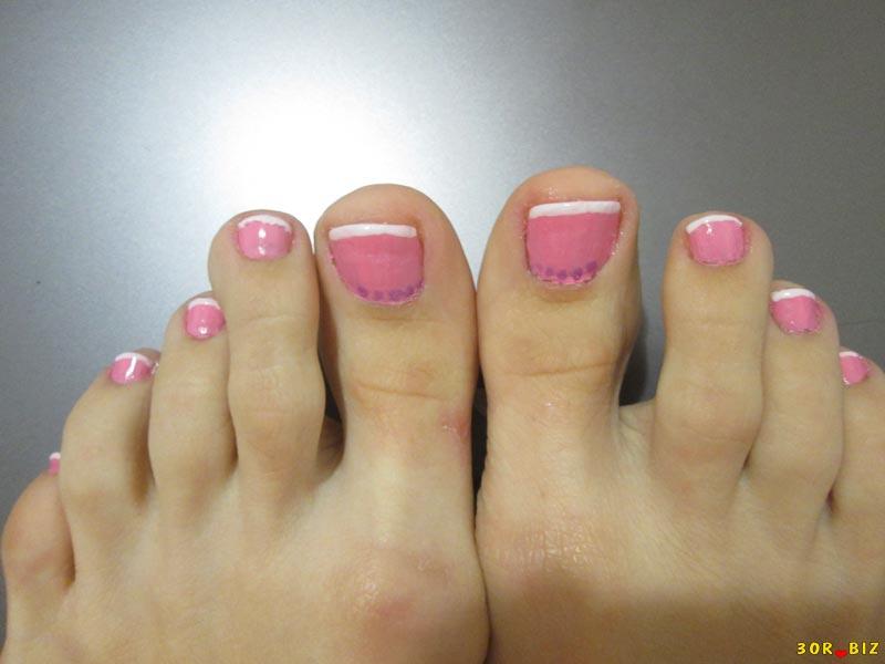 Как на ногтях рисовать розочки на ногтях пошагово