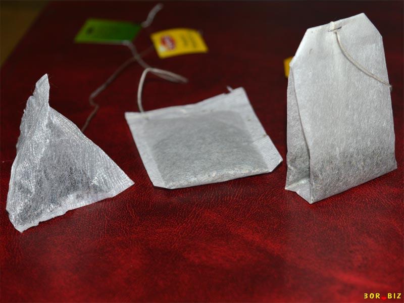 Пакетированные виды чаев