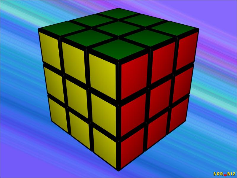 Головоломка кубик Рубика 3×3×3