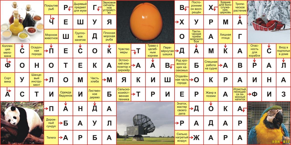 Ответы на онлайн сканворд 20x10 р 22 Чешуя